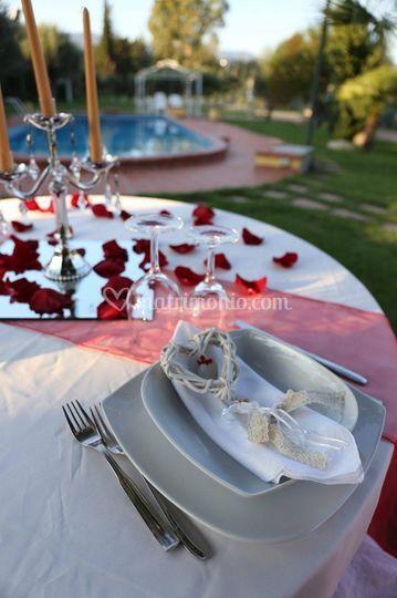 Matrimonio in Piscina-Catering