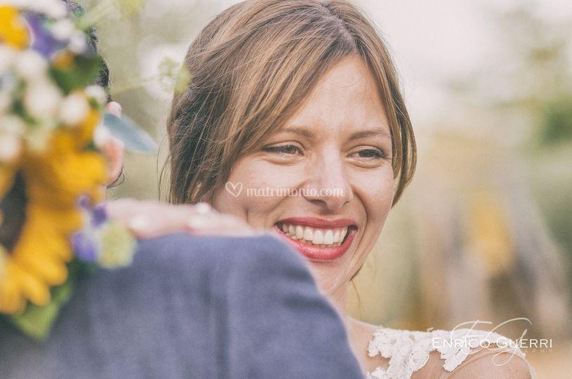 Espressione della sposa