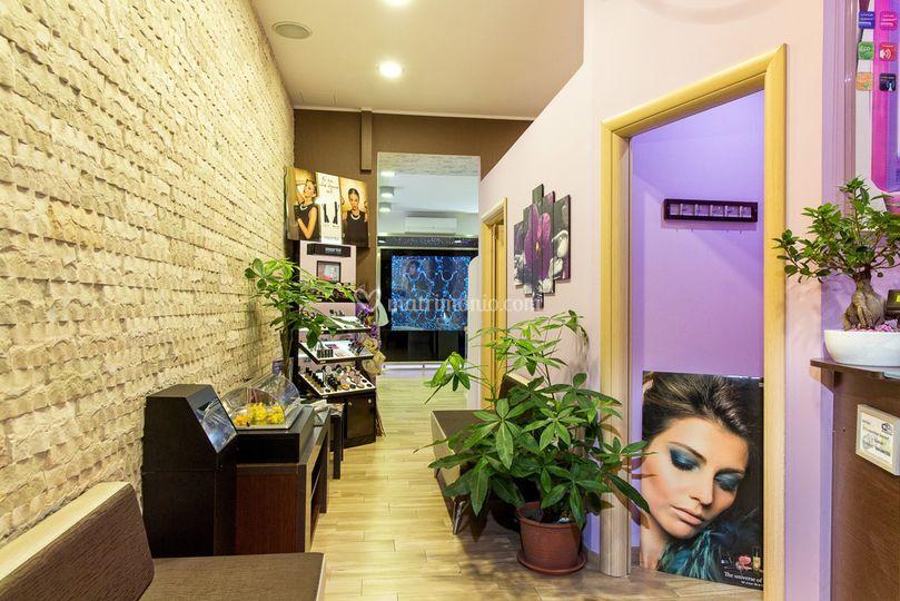 Sala d'attesa Deluxe Beauty