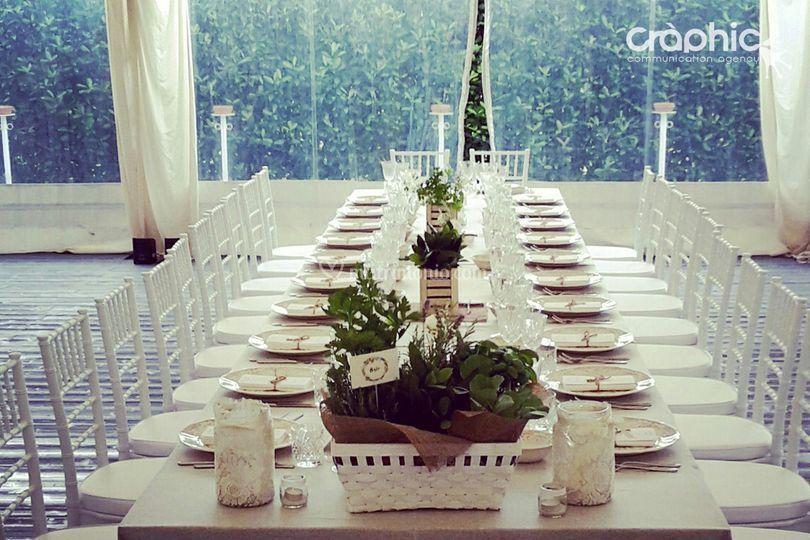 Segna tavoli erbe aromatiche