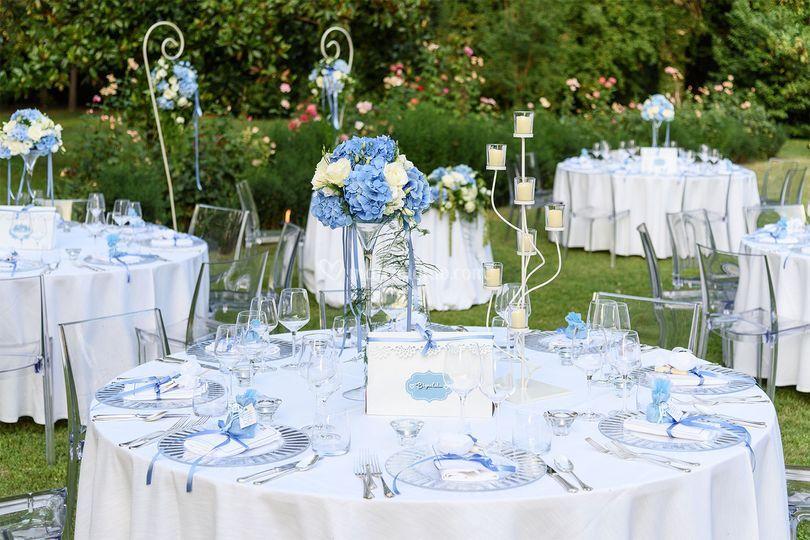 Matrimonio Azzurro Serenity : Luminal park