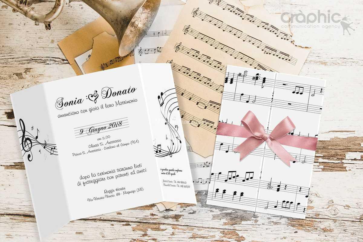 Partecipazioni Matrimonio Novara.Partecipazioni Musica Di Mara Mazzucco Foto 16