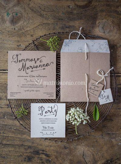 b8ea2c1be4bd Lily Sage Design Partecipazioni di nozze
