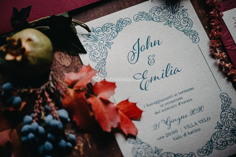 Wedding stationey