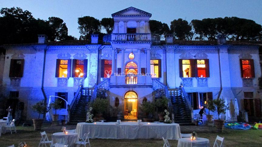 Effetti luce (a scelta) di Villa Vigna Contarena