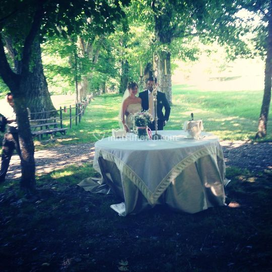 Matrimonio in stile Country