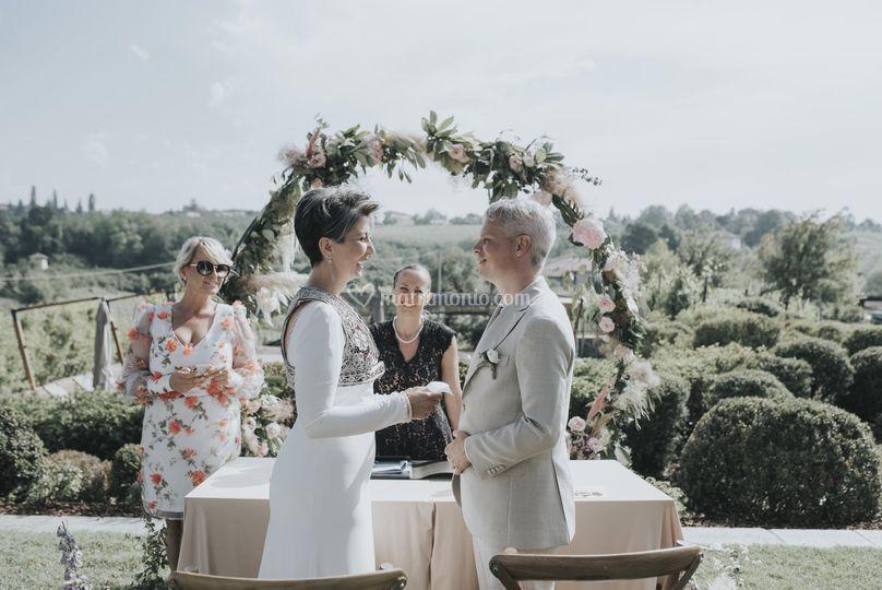 Wedding in langhe