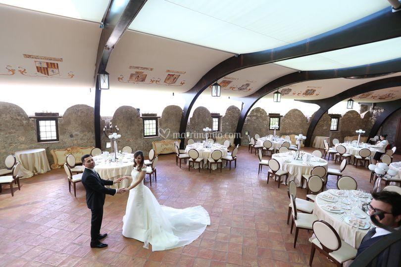 Sposi di Castello di Limatola