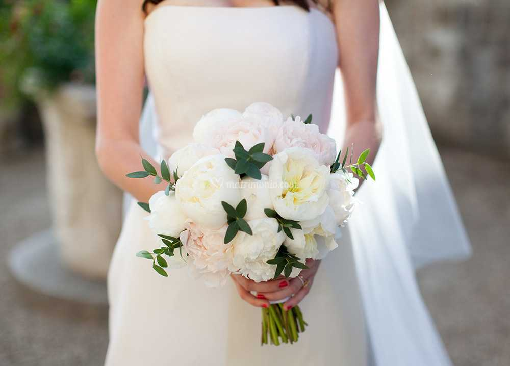 Gardenia Bouquet Sposa.Bouquet Peonie Di La Gardenia Di Gambini Maristella Fotos