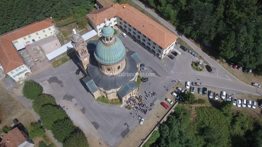 Chiesa dall'alto