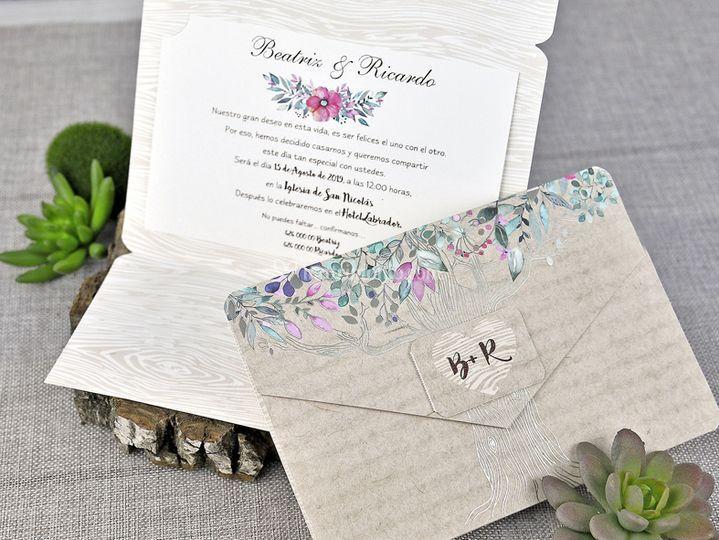 Partecipazione nozze 39303