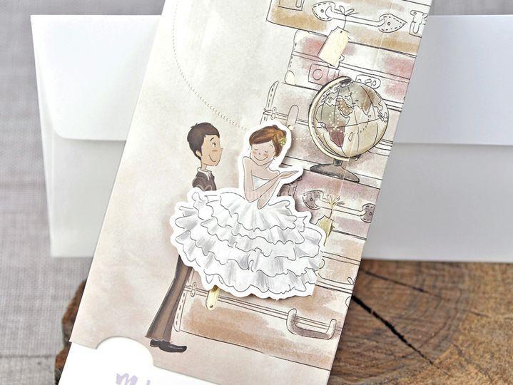 Partecipazione nozze 39324
