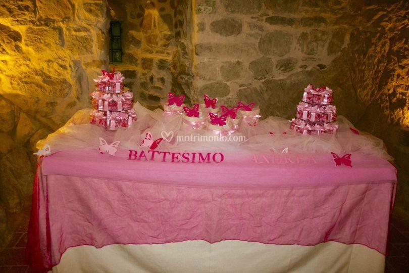 Super Tavolo confettata Battesimo di Bomboniere e Non Solo | Foto 41 PP27