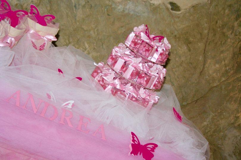 Confettata battesimo floricoltura ruggeri