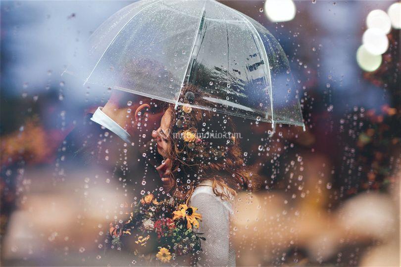 La luce della pioggia