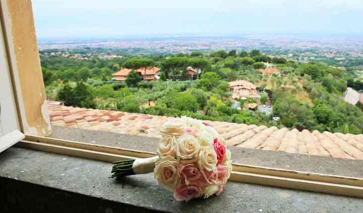 Bouquet rose colori tenui