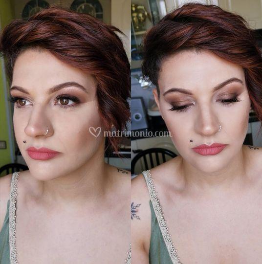 Make-up damigella
