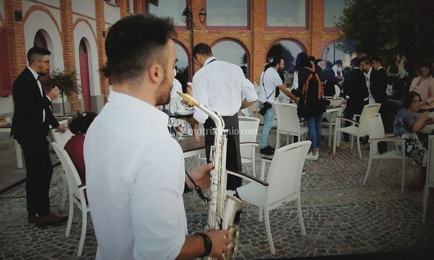 Sax wedding