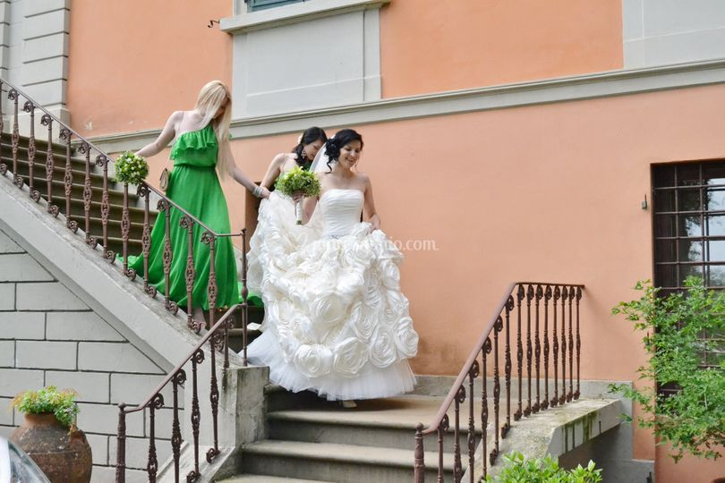 Villa de 39 fiori - Addobbi matrimonio casa della sposa ...
