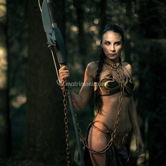 Satine Luxe Leia Cosplay