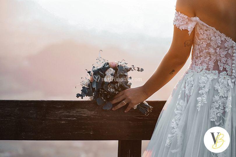 Il paesaggio con la sposa