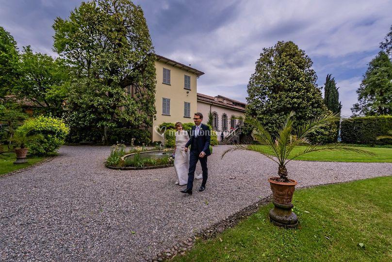 Matrimonio-Villa Parravicini