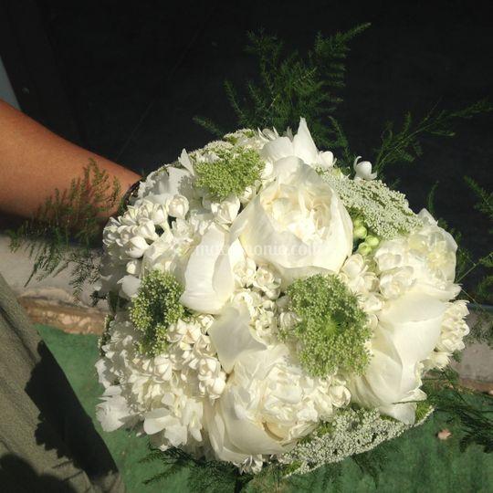Bouquet di paeonia