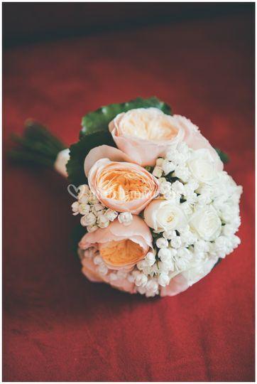 Il bouquet di rose inglesi .