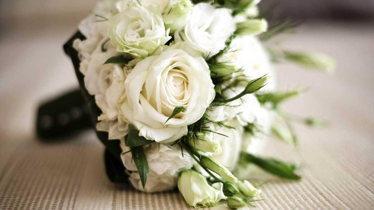 Bouquet Sposa Lisianthus.Bouquet Rose E Lisianthus Di Bottega Del Fiore Foto 58