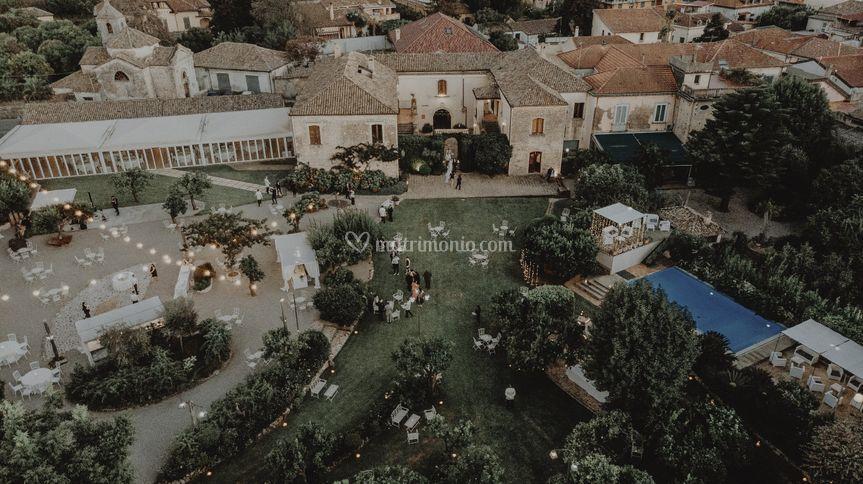 Panoramica Villa Zerbi
