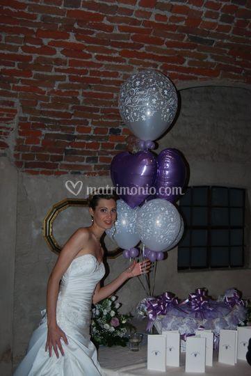 Bouquet palloncini misto