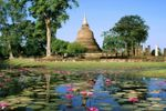 Thailandia, giardino zen