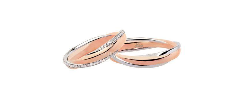 Oro rosa e diamanti