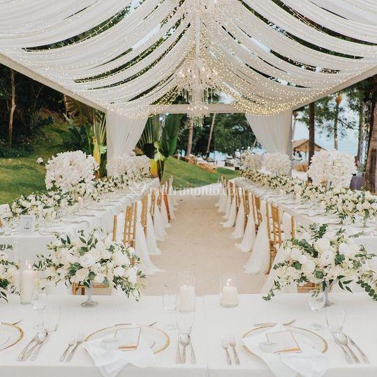 Tavola invitati toscana wedding