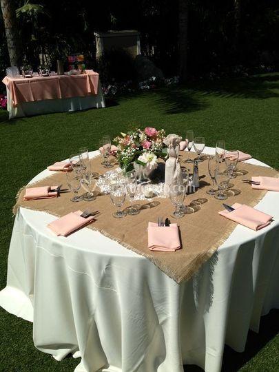 Apparecchiatura toscana wedding