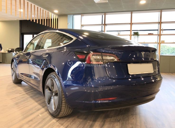 Tesla Model 3 Long Range blu