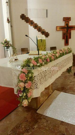 Chiesa: altare