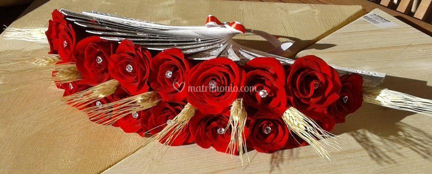 Ventaglio di rose