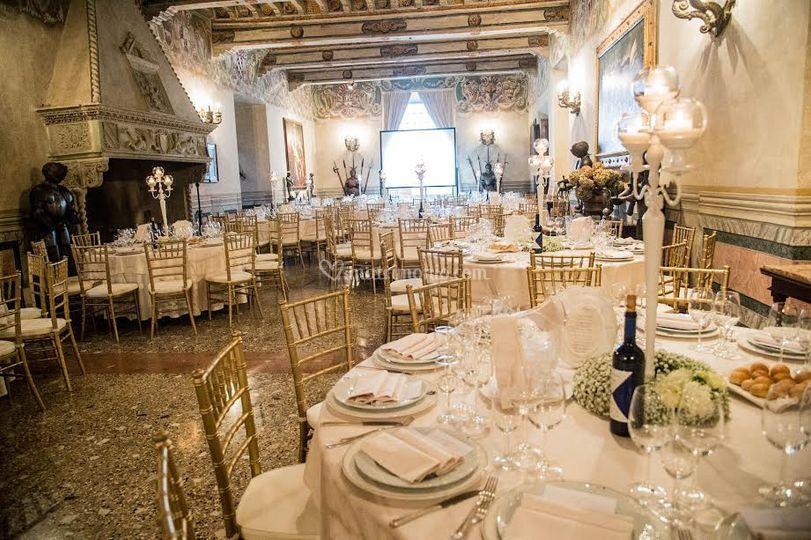 Salone d'onore del castello