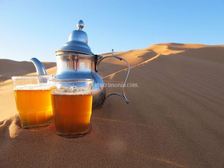 Un the nel deserto