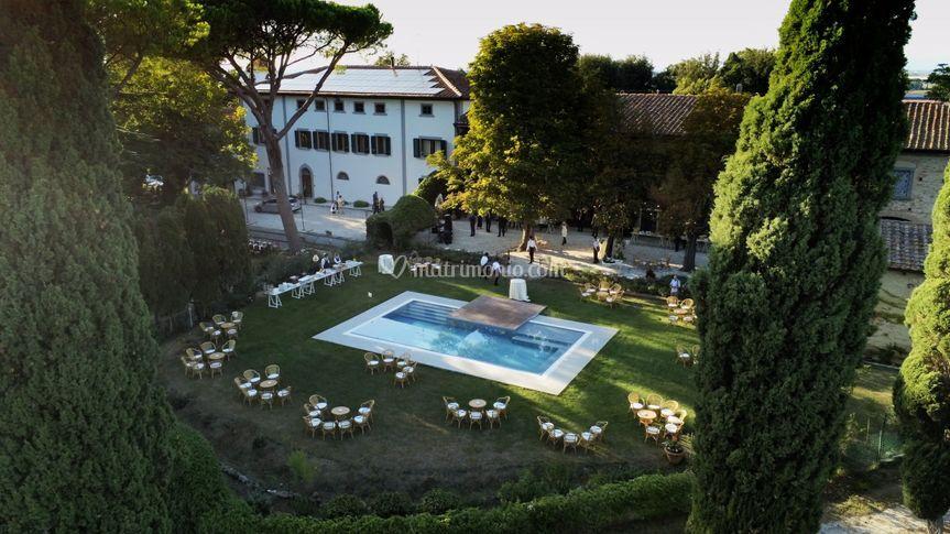 Villa dal Pozzo, agosto 2020