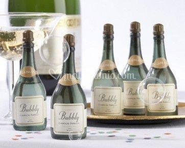Bolle di sapone Champagne