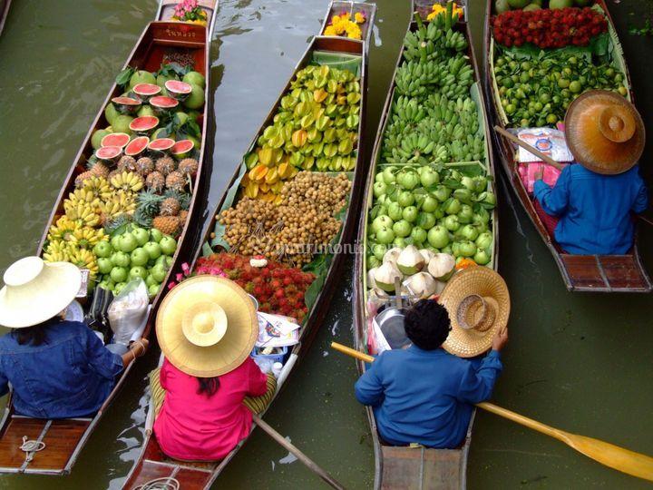 Damnoen Saduak - Thailandia