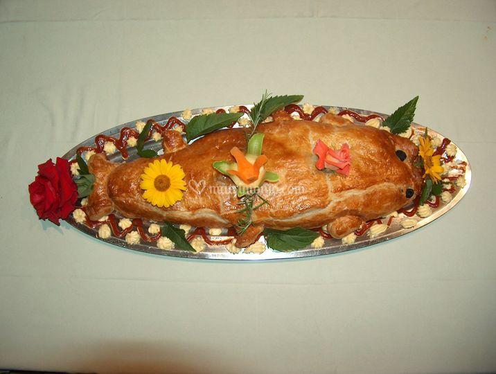 Pesce in crosta