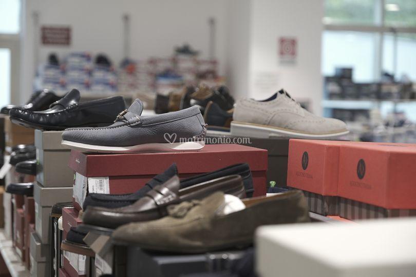 Reparto calzature