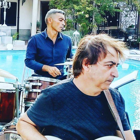 Musica in piscina