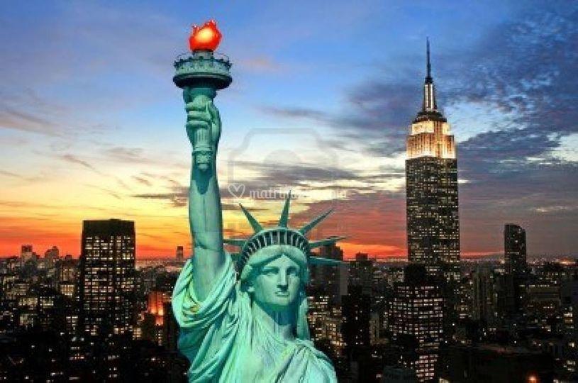 New York-Statua della Libertà