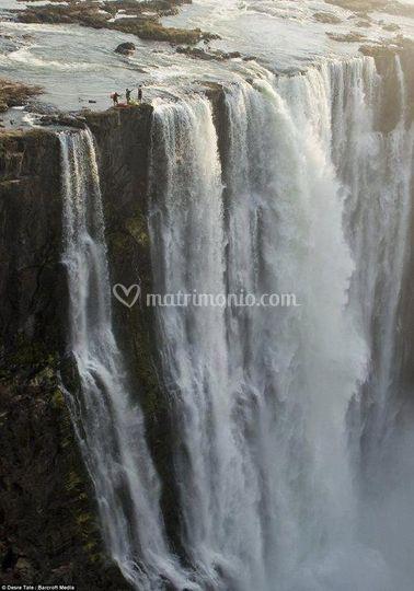 Zambia: Cascate Victoria