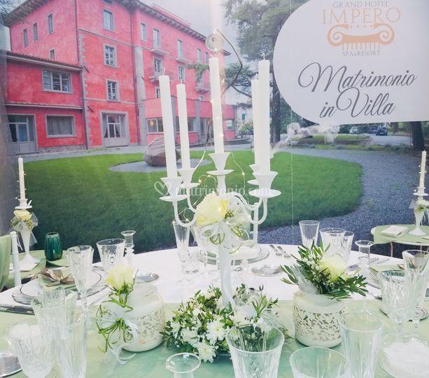 Proposta diMatrimonio in Villa