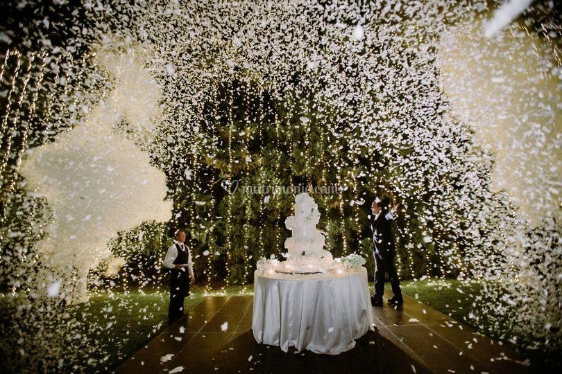 Wedding Cake - coup de théâtre